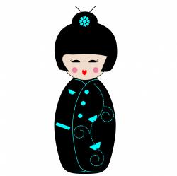 Geisha clipart public domain