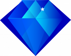 Crystal clipart sapphire