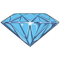 Gems clipart diamond