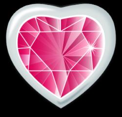Gems clipart heart