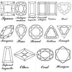 Sketch clipart gemstone