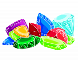 Gems clipart pile jewel