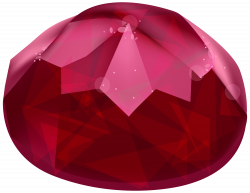 Ruby clipart red diamond