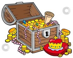 Pirate clipart pirate treasure chest