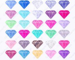 Rhinestone clipart gemstone