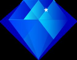 Gems clipart sapphire