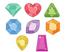 Gems clipart treasure