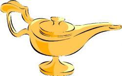 Genie Lamp clipart aladdin's