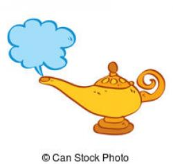 Genie Lamp clipart animated