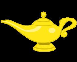 Genie Lamp clipart art