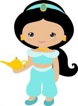 Jasmine clipart cute
