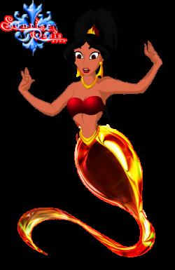 Jasmine clipart red