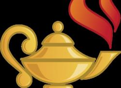Genie Lamp clipart knowledge