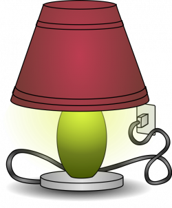 Lamps clipart table lamp