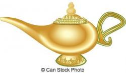 Genie Lamp clipart magic lamp