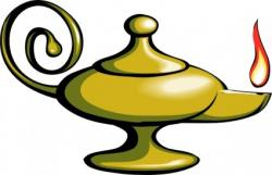 Genie Lamp clipart old lamp