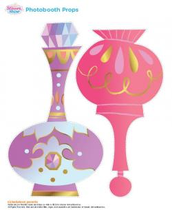 Arabien Nights clipart genie bottle