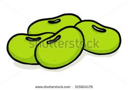 Bean clipart cartoon