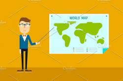 Geography clipart global teacher