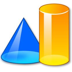 Geometry clipart 3d shapes