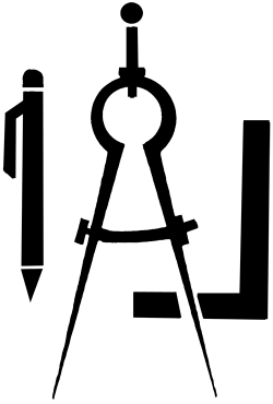 Compass clipart drawing