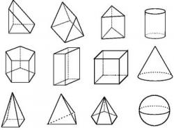 Geometry clipart black and white