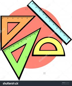 Geometry clipart cartoon