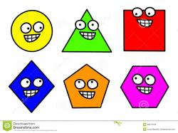 Geometry clipart funny shape