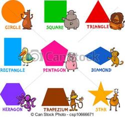 Square clipart basic shape