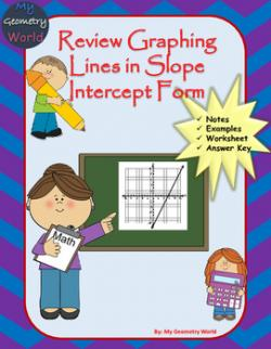 Geometry clipart linear equation