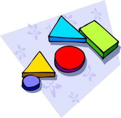 Geometry clipart math manipulative