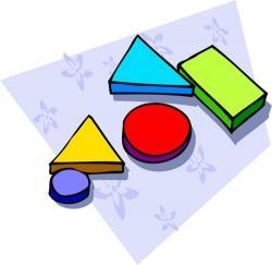 Geometry clipart math manipulative