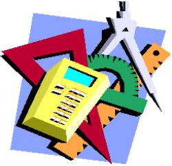 Homework clipart math equipment