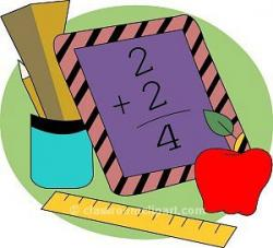 Number clipart kindergarten math