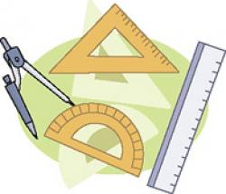 Geometry clipart protractor