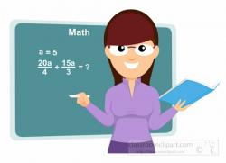 Geometry clipart teacher
