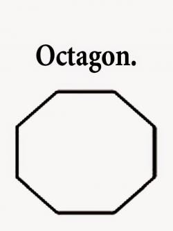 Octigon clipart decagon