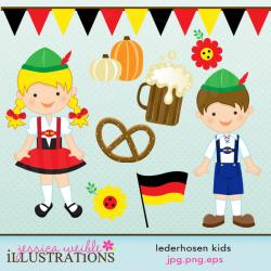 Germany clipart german lederhosen