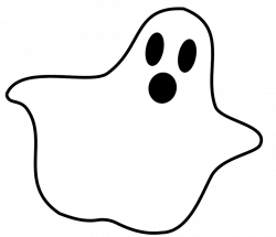 Horror clipart cute halloween ghost