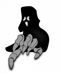 Ghost clipart scare