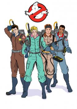 Ghostbusters clipart female