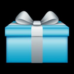 Light Blue clipart present