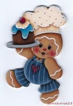 Gingerbread clipart baker