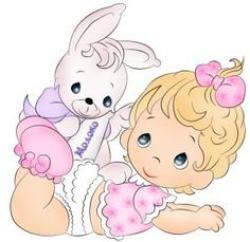 Baby clipart precious moment