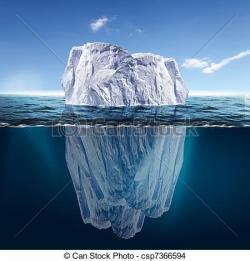 Antarctica clipart iceberg