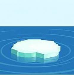 Glacier clipart ice floe