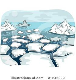Glacier clipart melting ice