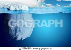 Glacier clipart north pole