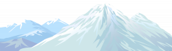 Summit clipart snowy mountain