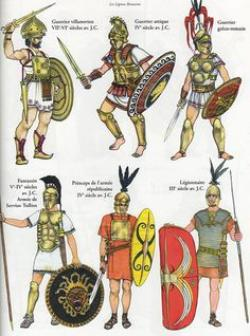 Gladiator clipart ancient war